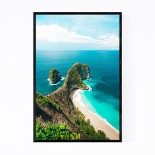 Noir Gallery Coastal Beach Bali Indonesia Framed Art Print