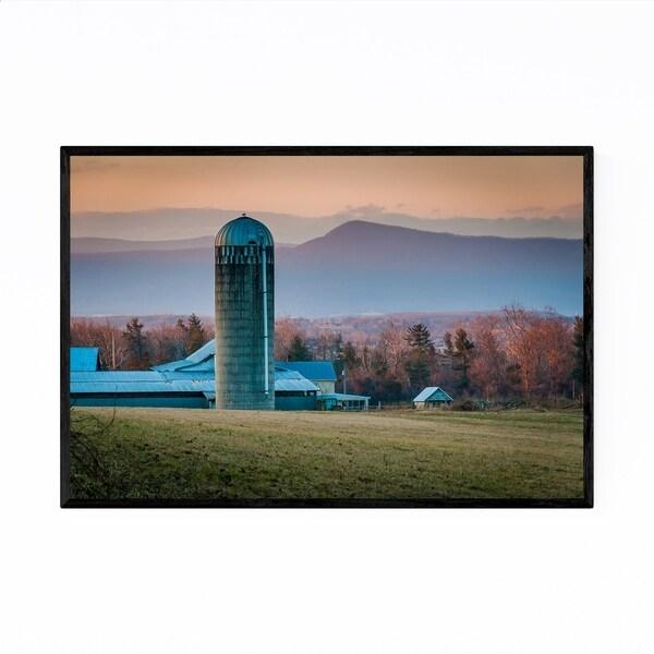Noir Gallery Shenandoah Valley Farm Virginia Framed Art Print