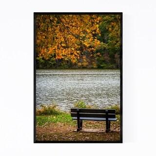 Noir Gallery York Pennsylvania Lake Shore Framed Art Print