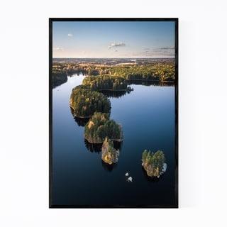 Noir Gallery Finland Teijo National Park Lake Framed Art Print