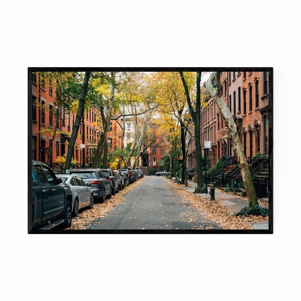 Noir Gallery Brooklyn Heights New York City Framed Art Print