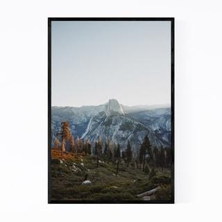 Noir Gallery Half Dome Yosemite California  Framed Art Print