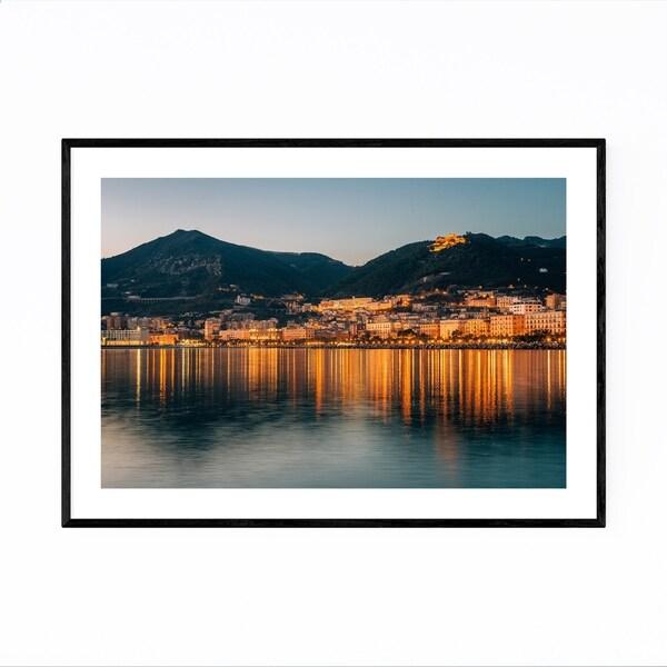 Noir Gallery Salerno Italy Amalfi Coast Framed Art Print