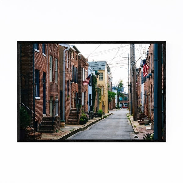 Noir Gallery Federal Hill Baltimore Maryland Framed Art Print
