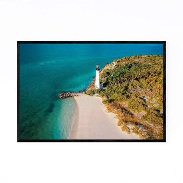 Noir Gallery Key Biscayne Lighthouse Miami Framed Art Print