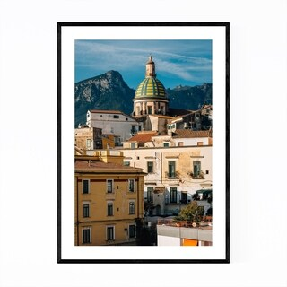 Noir Gallery Vietri Sul Mare Italy Amalfi Framed Art Print