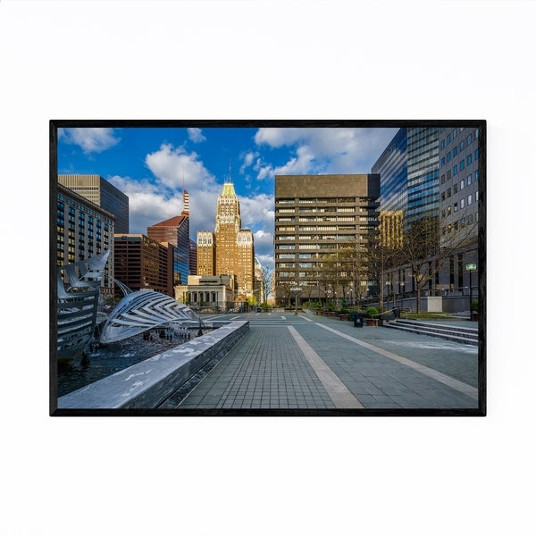 Noir Gallery Baltimore, MD Modern Downtown Framed Art Print