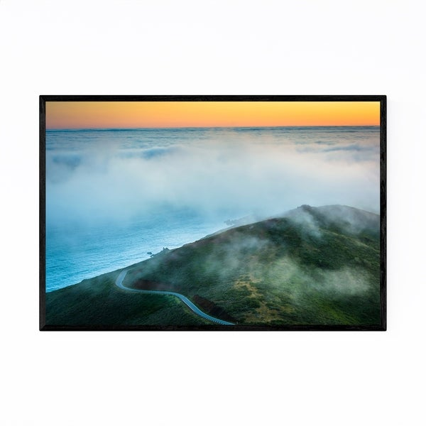 Noir Gallery Landscape Sunset San Francisco Framed Art Print
