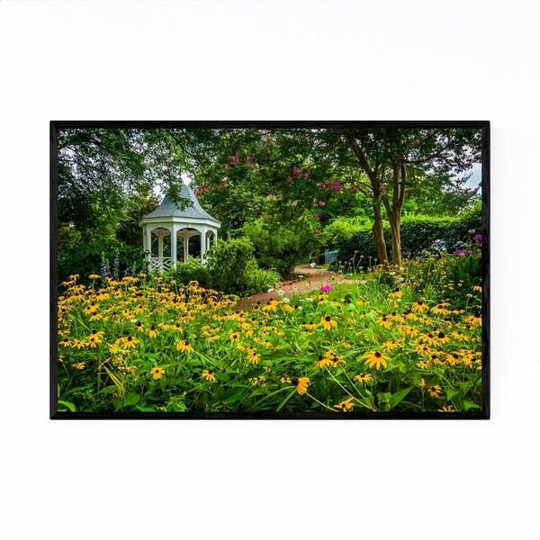 Noir Gallery Alexandria VA Colorful Garden Framed Art Print