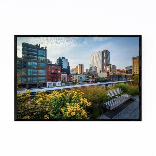 Noir Gallery High Line Chelsea New York City Framed Art Print