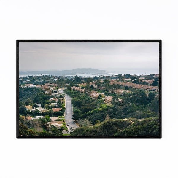 Noir Gallery Mt. Soledad La Jolla California Framed Art Print