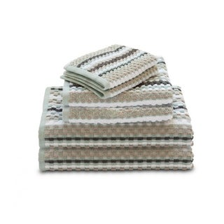 Link to Waffle Check 6-Piece Cotton Bath Towel Set Similar Items in Towels