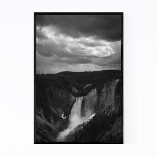 Noir Gallery Yellowstone National Park Framed Art Print