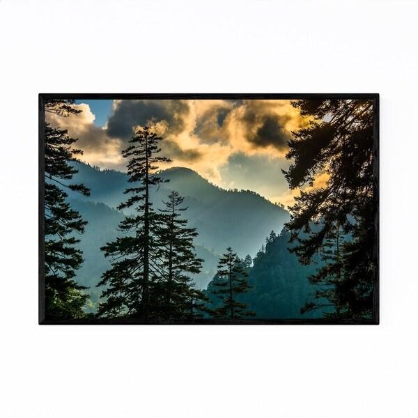 Noir Gallery Great Smoky Mountains Landscape Framed Art Print
