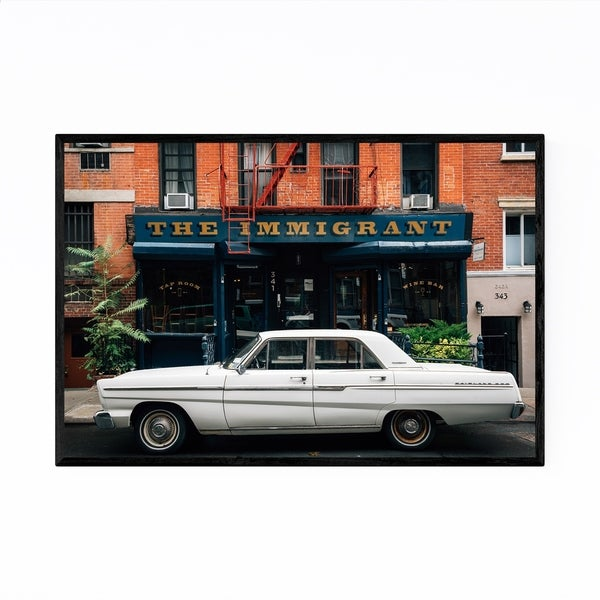 Noir Gallery Car East Village New York City Framed Art Print