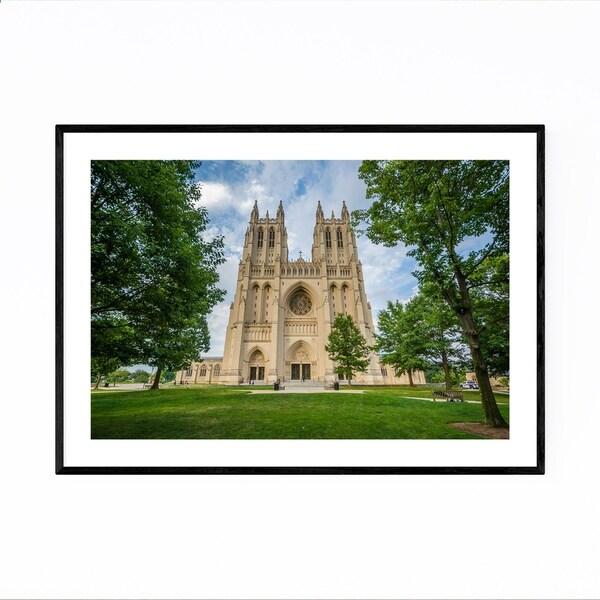 Noir Gallery Washington National Cathedral DC Framed Art Print