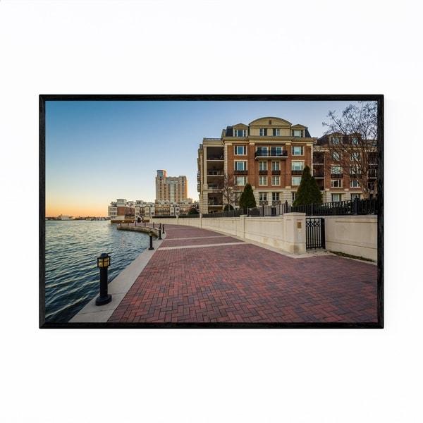 Noir Gallery Inner Harbor Baltimore MD Framed Art Print