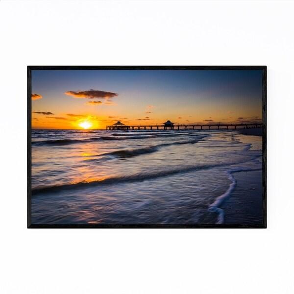 Noir Gallery Fort Myers Beach, Florida Sunset Framed Art Print