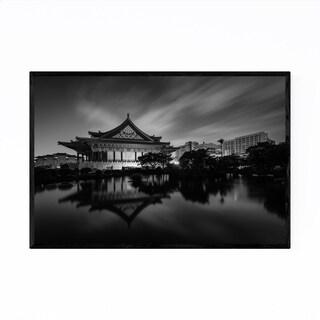 Noir Gallery Black & White Taipei Taiwan Framed Art Print