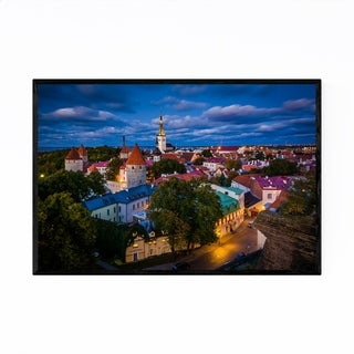 Noir Gallery Tallinn Estonia Europe Old Town Framed Art Print