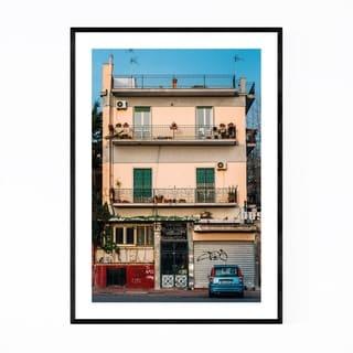 Noir Gallery Naples Italy Photography Framed Art Print