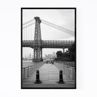Noir Gallery Williamsburg Bridge New York Framed Art Print