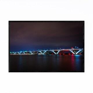 Noir Gallery Alexandria Woodrow Wilson Bridge Framed Art Print