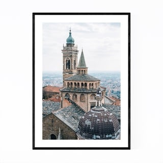Noir Gallery Bergamo Italy Photography Framed Art Print