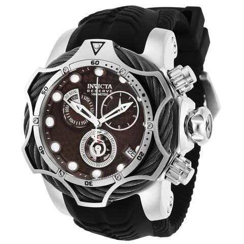 Invicta Men's 27711 'Reserve' Venom Black Silicone Watch