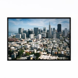 Noir Gallery Skyline San Francisco California Framed Art Print