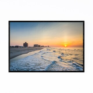 Noir Gallery Ventnor Beach New Jersey Shore Framed Art Print