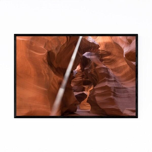 Noir Gallery Antelope Canyon Arizona Desert Framed Art Print