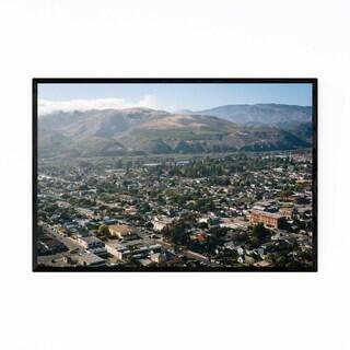 Noir Gallery Mountains Ventura, California Framed Art Print