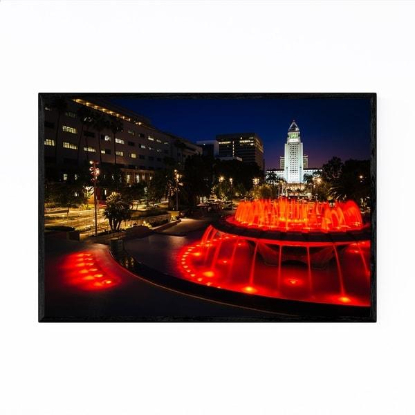 Noir Gallery Grand Park City Hall Los Angeles Framed Art Print