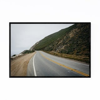 Noir Gallery Pacific Coast Highway Big Sur CA Framed Art Print