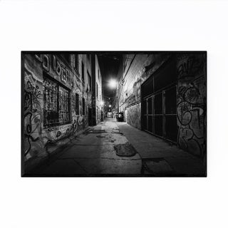 Noir Gallery Toronto Graffiti Alley Urban Framed Art Print