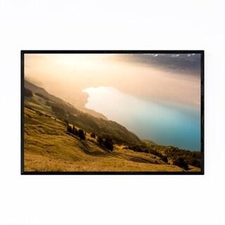 Noir Gallery Lake Brienz Alps Switzerland Framed Art Print