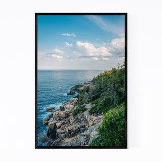 Noir Gallery Acadia National Park Coast Maine Framed Art Print