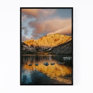 Noir Gallery Convict Lake Mammoth California Framed Art Print