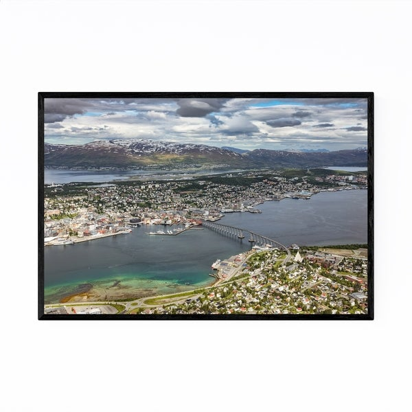 Noir Gallery Tromso Norway Landscape Nature Framed Art Print
