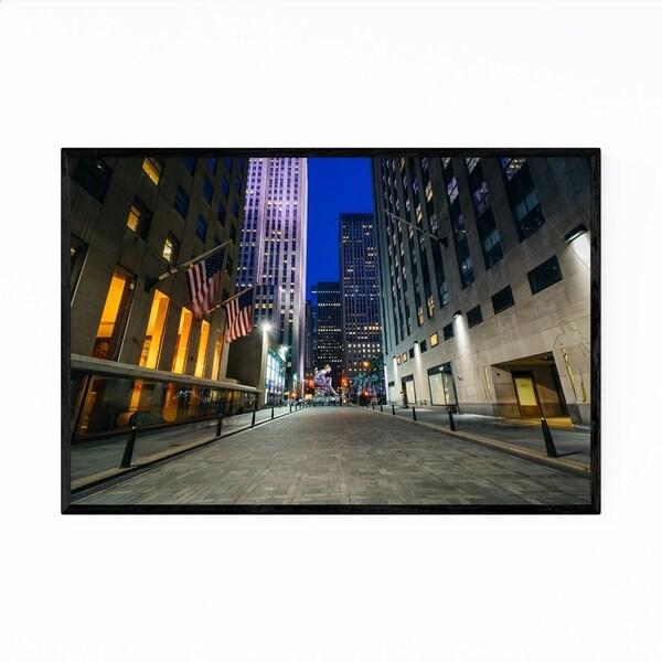 Noir Gallery Rockefeller Center New York City Framed Art Print