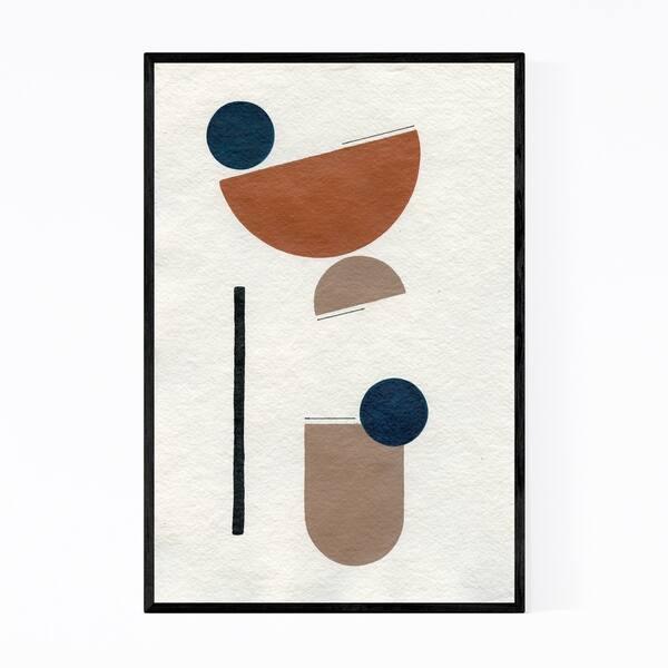 Shop Noir Gallery Abstract Minimal Shapes Desert Framed Art