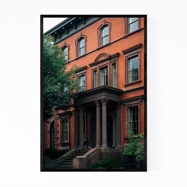 Noir Gallery Salem Massachusetts Architecture Framed Art Print