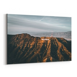 Noir Gallery Hollywood Sign Los Angeles CA Canvas Wall Art Print