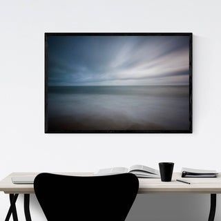 Noir Gallery Virginia Beach Atlantic Coastal Framed Art Print
