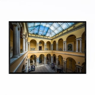Noir Gallery Mount Vernon Museum Baltimore Framed Art Print