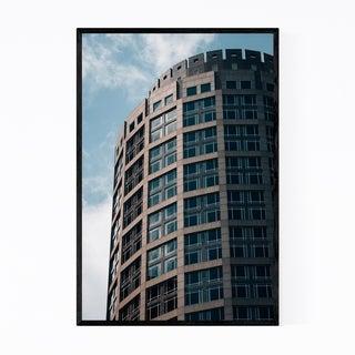 Noir Gallery Boston Modern Architecture Framed Art Print