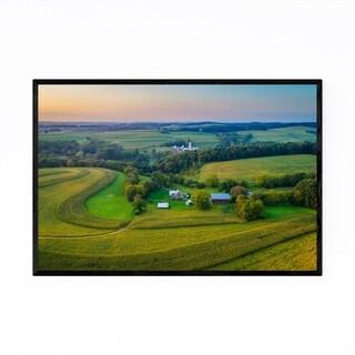 Noir Gallery Pennsylvania Rural Farm Country Framed Art Print