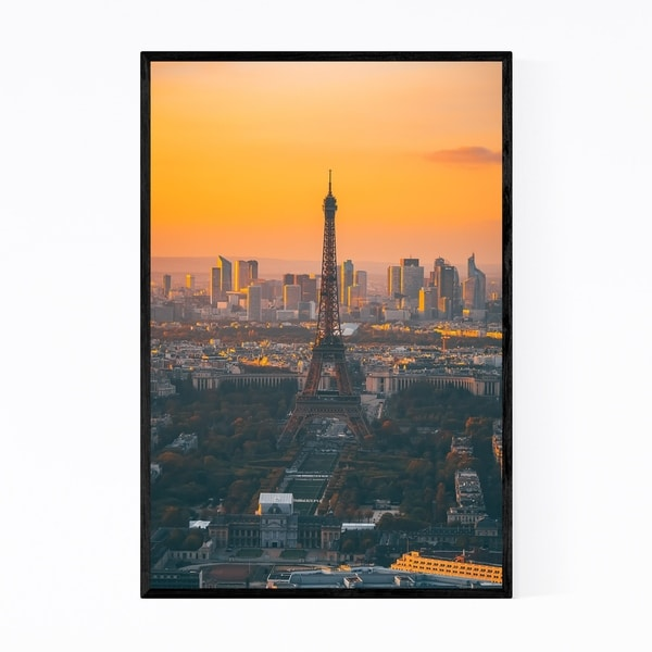 Noir Gallery Eiffel Tower Paris France Europe Framed Art Print
