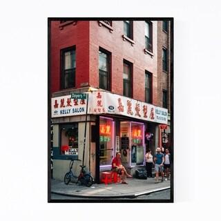 Noir Gallery Chinatown Manhattan New York Framed Art Print